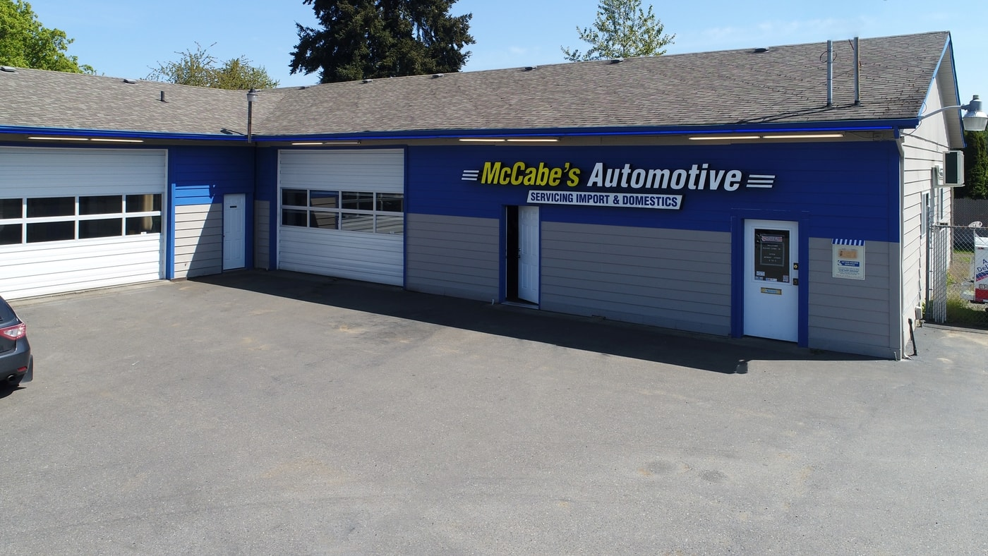 Image of the McCabes Auto Repair Shop