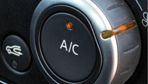 Image of an Air Conditioning knob in the car