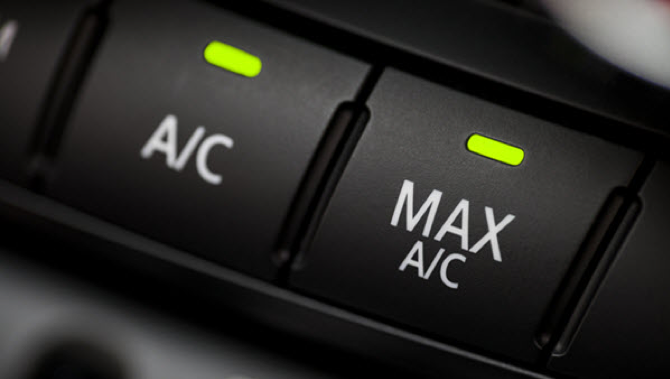 Image of an Air Conditioning and Max AC Buttons