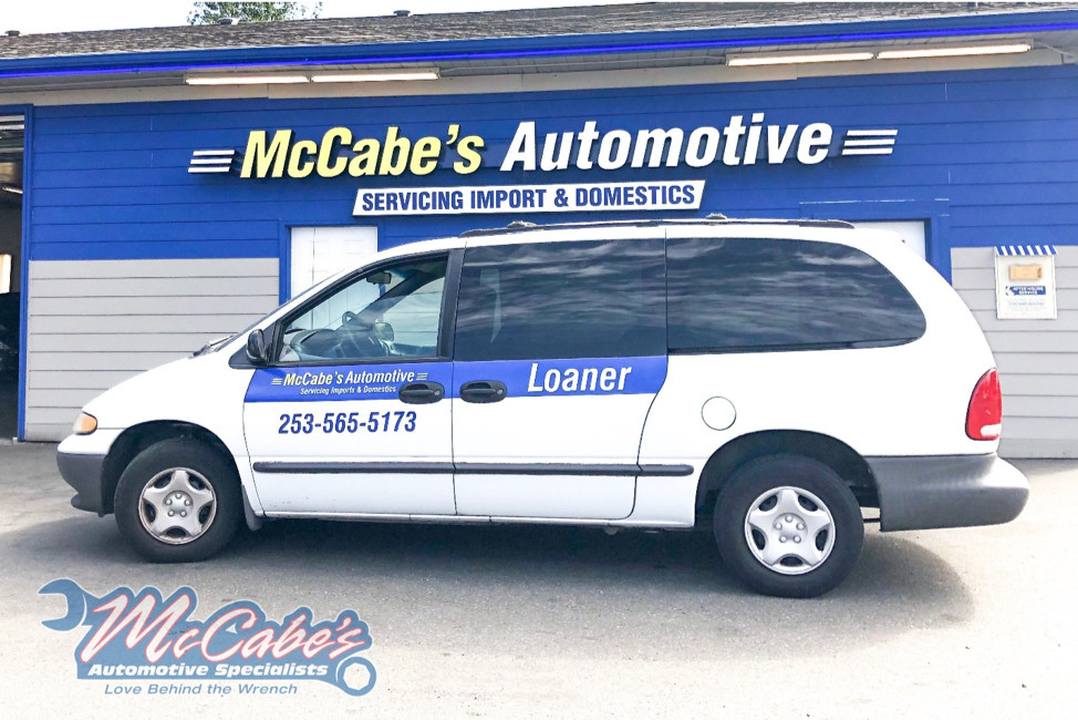 Image of the McCabes Loaner Vehicles